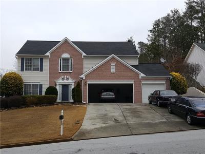 Suwanee Single Family Home For Sale: 4085 Oak Park Drive