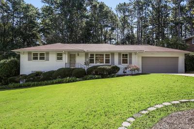 Atlanta Single Family Home For Sale: 1871 Audubon Drive NE
