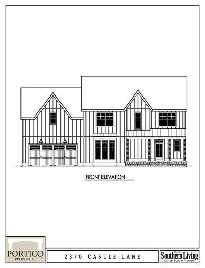 Smyrna Single Family Home For Sale: Lot#2 Carson Lane SE #Lot 2