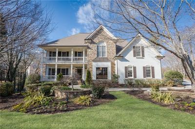 Alpharetta Single Family Home For Sale: 9195 Nesbit Lakes Drive