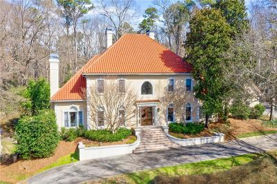 Atlanta GA Single Family Home For Sale: $3,975,000