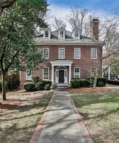 Druid Hills Single Family Home For Sale: 428 Emory Drive NE