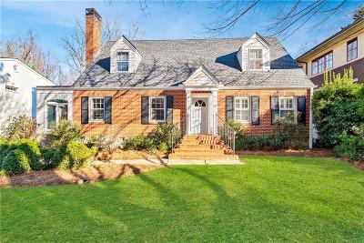 Virginia Highland Single Family Home For Sale: 1145 Lanier Boulevard NE