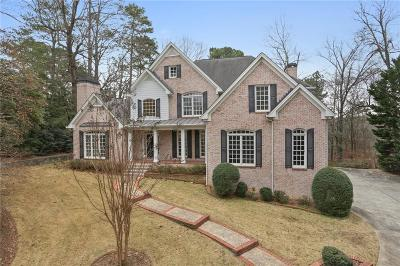 Sandy Springs Single Family Home For Sale: 125 River North Circle