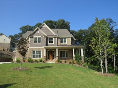 Kennesaw Single Family Home For Sale: 1382 Kings Park Drive
