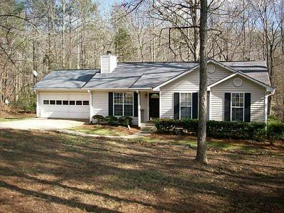 Dawsonville Single Family Home For Sale: 96 Holts Court