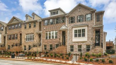 Dunwoody Condo/Townhouse For Sale: 4232 Townsend Lane #49