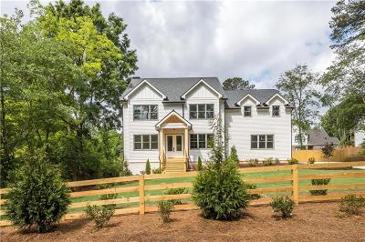 Dunwoody Single Family Home For Sale: 5464 Tilly Mill Road