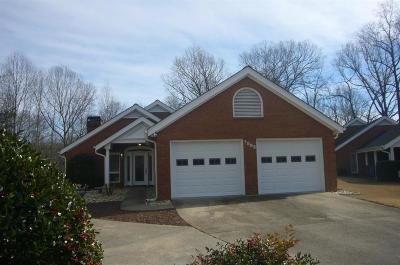 Hall County Rental For Rent: 1583 Woodland Way