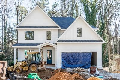 Brookhaven Single Family Home For Sale: 2635 Drew Valley Road NE