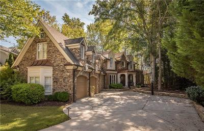 Johns Creek Single Family Home For Sale: 135 Stone Pond Lane