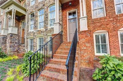 Sandy Springs Condo/Townhouse For Sale: 1075 Charles Towne Square