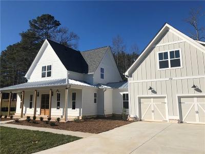 Woodstock Single Family Home For Sale: 103 Gardenia Trail