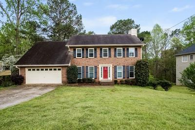 Lilburn Single Family Home For Sale: 3836 Riverbank Drive SW