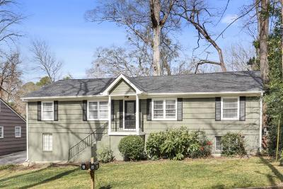 Peachtree Hills Single Family Home For Sale: 56 Mobile Avenue