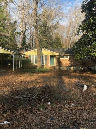 Brookhaven Single Family Home For Sale: 2973 Cravenridge Drive NE