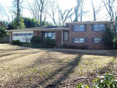 Marietta Single Family Home For Sale: 518 Duke Drive