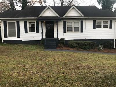 East Atlanta Single Family Home For Sale: 1643 Van Epps Street SE