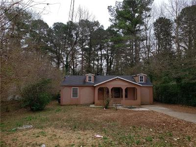 Decatur GA Single Family Home For Sale: $109,900