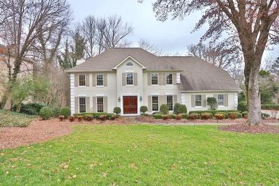Marietta Single Family Home For Sale: 380 Dogwood Trail SE