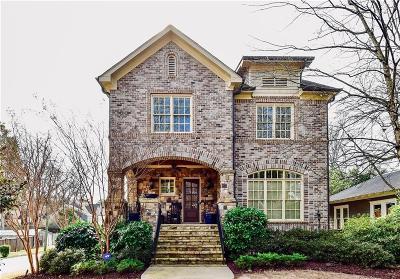 Brookhaven Single Family Home For Sale: 1185 Oglethorpe Avenue NE