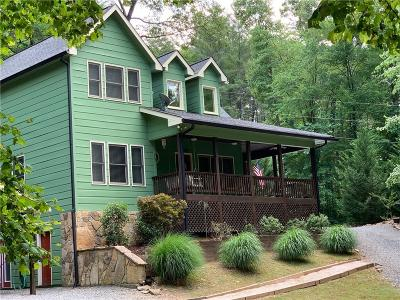 Ellijay Single Family Home For Sale: 31 Nahunta Court