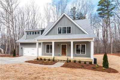 Dawsonville Single Family Home For Sale: 1250 Blue Ridge Overlook