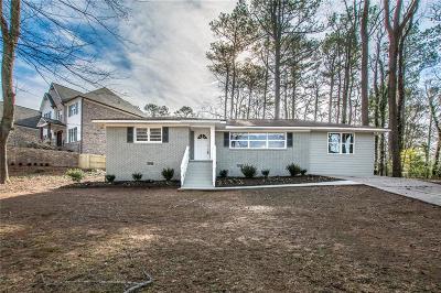 Smyrna Single Family Home For Sale: 2266 Hills Lane Drive SE