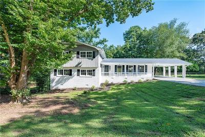 Single Family Home For Sale: 1787 Mount Vernon Road