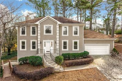 Suwanee Single Family Home For Sale: 530 Clear Lake Lane