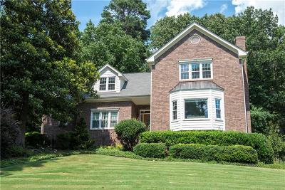 Snellville Single Family Home For Sale: 1600 Hickory Lake Drive