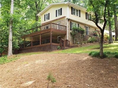 Smyrna Single Family Home For Sale: 1491 Spruce Drive SE