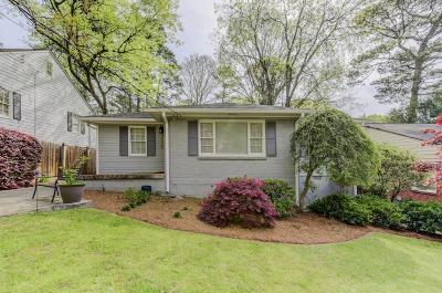 Atlanta Single Family Home For Sale: 1939 Kilburn Drive