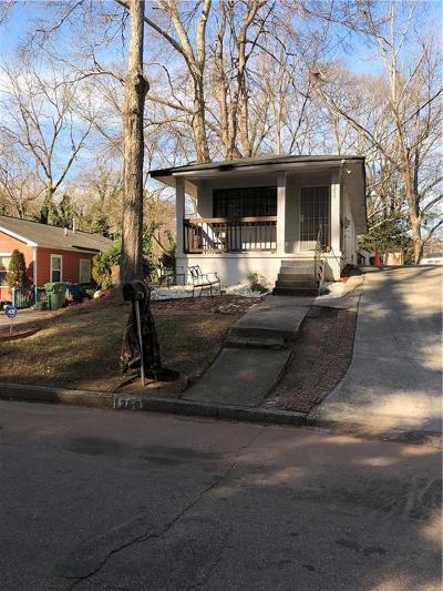 Atlanta GA Single Family Home For Sale: $129,900