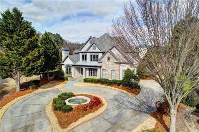 Suwanee Single Family Home For Sale: 5925 Stoneleigh Drive