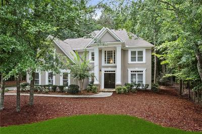 Suwanee Single Family Home For Sale: 740 Riverhaven Drive