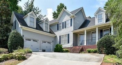 Brookstone Single Family Home For Sale: 1709 Kenbrook Court NW