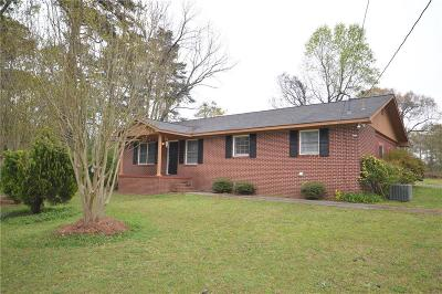 Acworth Single Family Home For Sale: 3890 Kemp Ridge Road NW