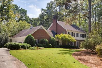 Sandy Springs Single Family Home For Sale: 1290 Heards Ferry Road