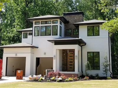 Dekalb County Single Family Home For Sale: 1237 Citadel Drive NE