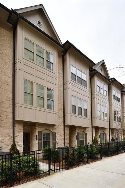 Atlanta Condo/Townhouse For Sale: 619 Broadview Place NE