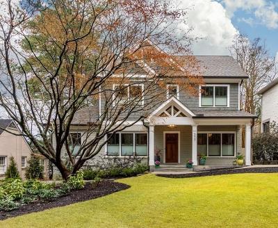 Atlanta Single Family Home For Sale: 573 Pelham Road NE