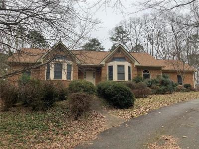 Lawrenceville Single Family Home For Sale: 734 Bramlett Shoals Road