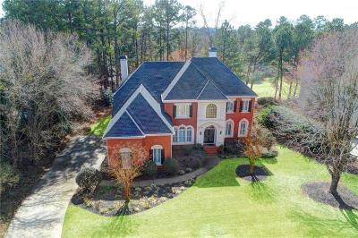 Duluth Single Family Home For Sale: 7870 St Marlo Country Club Parkway