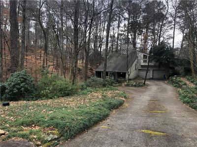Atlanta Country Club Single Family Home For Sale: 4724 Ponte Vedra Drive SE