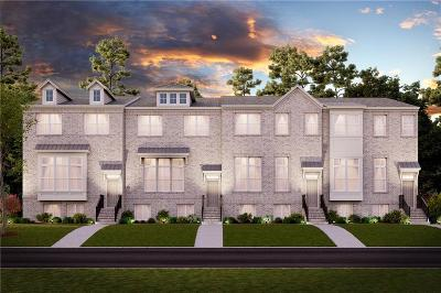 Roswell Condo/Townhouse For Sale: 715 Fairview Circle