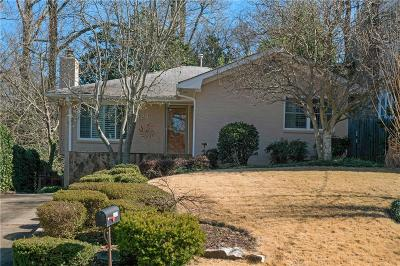 Atlanta Single Family Home For Sale: 1429 Wessyngton Road NE