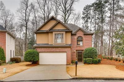 Smyrna Single Family Home For Sale: 1100 Glenrose Drive SE