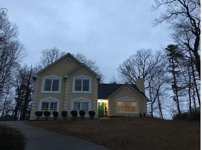 Buford Single Family Home For Sale: 3810 Quail Creek Drive
