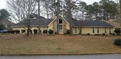 Sandy Springs Single Family Home For Sale: 7521 Auden Trail